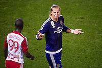 HARRISON, NJ - Friday, September 24, 2015: The New York Red Bulls lose to Orlando City SC 2-5 at home at Red Bull Arena in regular season MLS play.