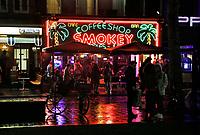 Nederland Amsterdam 2017 . Coffeeshop Smokey op het Rembrandtplein.   Foto Berlinda van Dam / Hollandse Hoogte