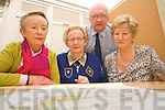 Joan O'Malley, Mary O'Brien, Mairead Fernane and Tim Guiheen very angry that the Community hospital in Tralee has been delayed again.