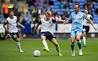 Bolton Wanderers' Ronan Darcy (centre) competing with Coventry City's Liam Kelly <br /> <br /> Photographer Andrew Kearns/CameraSport<br /> <br /> The EFL Sky Bet Championship - Bolton Wanderers v Coventry City - Saturday 10th August 2019 - University of Bolton Stadium - Bolton<br /> <br /> World Copyright © 2019 CameraSport. All rights reserved. 43 Linden Ave. Countesthorpe. Leicester. England. LE8 5PG - Tel: +44 (0) 116 277 4147 - admin@camerasport.com - www.camerasport.com