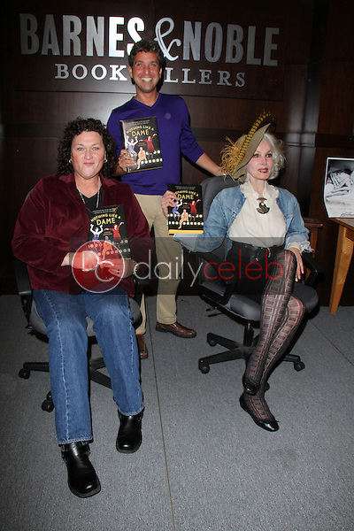 Dot Marie Jones, Eddie Shapiro, Julie Newmar<br />
