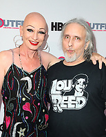 """LOS ANGELES, CA-  Constance Cooper, Howie Pyro, At 2017 Outfest Los Angeles LGBT Film Festival - Closing Night Gala Screening Of """"Freak Show"""" at The Theatre at Ace Hotel, California on July 16, 2017. Credit: Faye Sadou/MediaPunch"""