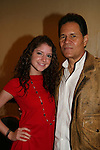 OLTL's Brittany Underwood poses with A Martinez at the One Life To Live Fan Club Luncheon on August 16, 2008 at the New York Marriott Marquis, New York, New York.  (Photo by Sue Coflin/Max Photos)