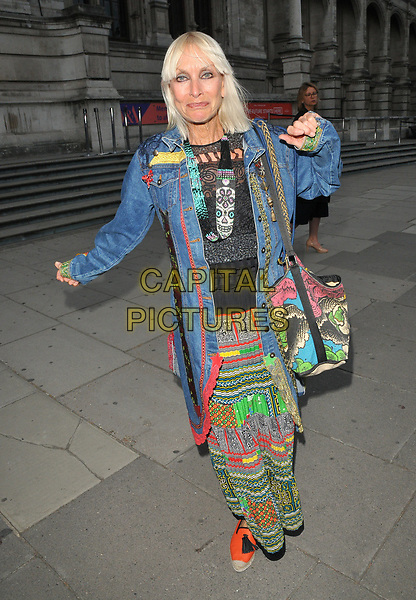 Virginia Bates at the Frida Kahlo: Making Her Self Up exhibition VIP private view, Victoria and Albert Museum, Cromwell Road, London, England, UK, on Wednesday 13 June 2018.<br /> CAP/CAN<br /> &copy;CAN/Capital Pictures