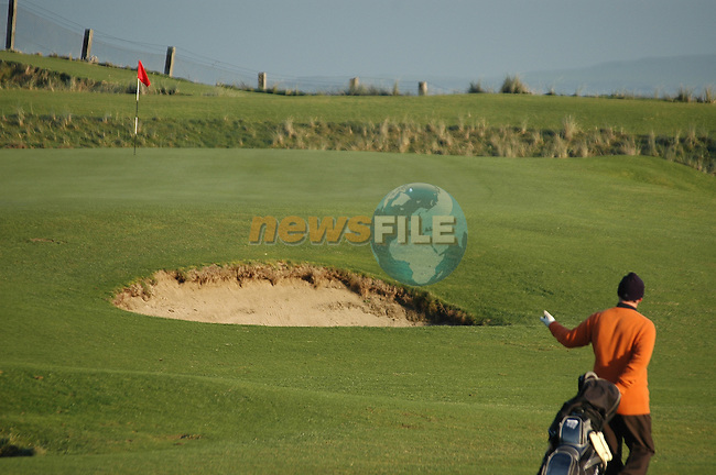 Corballis Golf Club in Donabate in North Co Dublin.Photo: Andy Sperman/ Newsfile.<br />