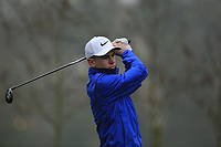 Conor Gough (Stoke Park GC) during the first round of the Peter McEvoy Trophy played at Copt Heath Golf Club, Solihull, England. 11/04/2018.<br /> Picture: Golffile | Phil Inglis<br /> <br /> <br /> All photo usage must carry mandatory copyright credit (&copy; Golffile | Phil Inglis)