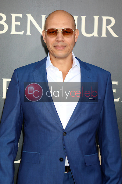 Jarreth J. Merz<br /> at the &quot;Ben-Hur&quot; Premiere, TCL Chinese Theater IMAX. Hollywood, CA 08-16-16<br /> David Edwards/DailyCeleb.com 818-249-4998
