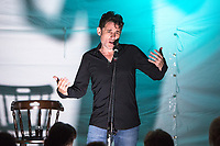 14th July 2019: Comedian Tom Stade performs his show 'You Ain't Seen Nothing Yet' on day 2 of the 2019 Comedy Crate Festival, Northampton.