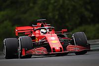 17th July 2020, Hungaroring, Budapest, Hungary; F1 Grand Prix of Hungary,  free practise sessions;  5 Sebastian Vettel GER, Scuderia Ferrari Mission Winnow