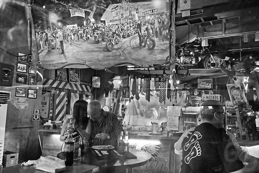 Foreigners inside Bars in Makati, Manila, Philippines