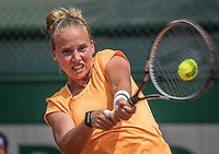 Paris, France, 28 May, 2017, Tennis, French Open, Roland Garros, Richel Hogenkamp (NED)<br /> Photo: Henk Koster/tennisimages.com