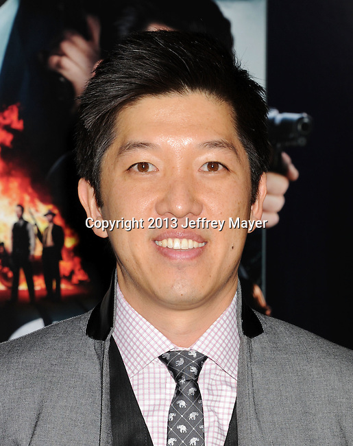 HOLLYWOOD, CA - JANUARY 07: Dan Lin arrives at the 'Gangster Squad' - Los Angeles Premiere at Grauman's Chinese Theatre on January 7, 2013 in Hollywood, California.