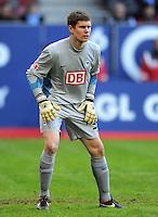 FUSSBALL   1. BUNDESLIGA  SAISON 2011/2012   23. Spieltag FC Augsburg - Hertha BSC Berlin          25.02.2012 Thomas Kraft (Hertha BSC Berlin)