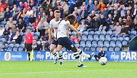 Preston North End's Daniel Johnson scores his side's equalising goal to make the score 1-1<br /> <br /> Photographer Chris Vaughan/CameraSport<br /> <br /> The EFL Sky Bet Championship - Preston North End v Reading - Saturday 15th September 2018 - Deepdale - Preston<br /> <br /> World Copyright &copy; 2018 CameraSport. All rights reserved. 43 Linden Ave. Countesthorpe. Leicester. England. LE8 5PG - Tel: +44 (0) 116 277 4147 - admin@camerasport.com - www.camerasport.com