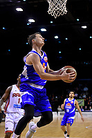 Saints&rsquo; Shaun Bruce in action during the NBL - Cigna Saints v Canterbury Rams at TSB Arena, Wellington, New Zealand on Tuesday 3 July 2018.<br /> Photo by Masanori Udagawa. <br /> www.photowellington.photoshelter.com