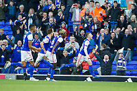 Freddie Sears of Ipswich Town celebrates the opening goal during Ipswich Town vs Preston North End, Sky Bet EFL Championship Football at Portman Road on 3rd November 2018