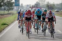 Toms Skujins (LVA/Trek-Segafredo) is part of the day's breakaway<br /> <br /> 113th Il Lombardia 2019 (1.UWT)<br /> 1 day race from Bergamo to Como (ITA/243km)<br /> <br /> ©kramon
