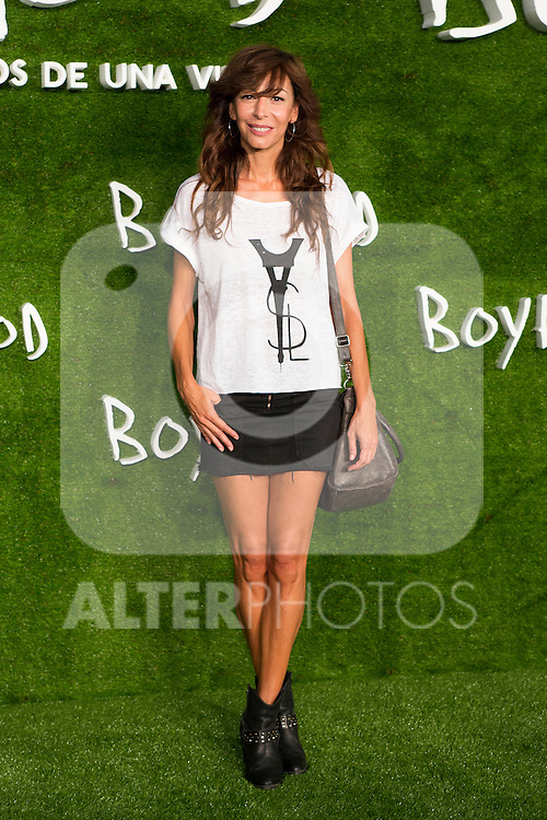 """Elisa Matilla attend the photocall of the Premiere of the movie """"Boyhood"""" at the Cineteca in Madrid, Spain. September 09, 2014. (ALTERPHOTOS/Carlos Dafonte)"""