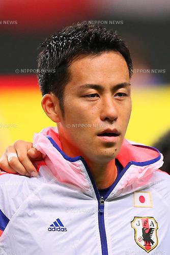 Maya Yoshida (JPN), <br /> SEPTEMBER 5, 2014 - Football / Soccer : <br /> KIRIN Challenge Cup 2014 <br /> match between Japan - Uruguay <br /> at Sapporo Dome, Hokkaido, Japan. <br />  (Photo by Yohei Osada/AFLO SPORT) [1156]