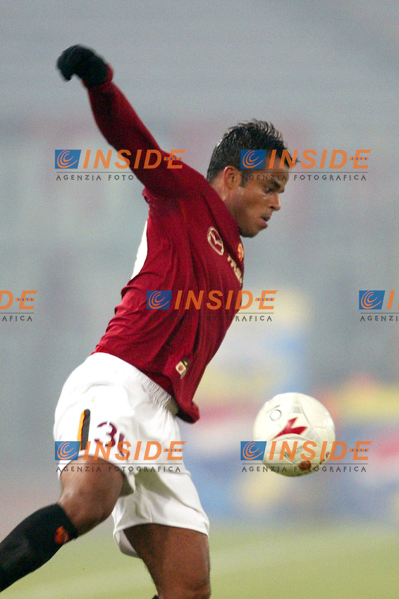 Roma 6/1/2004 Roma - Milan 1-2<br /> Alessandro Amantino Mancini (Roma)<br /> Photo Andrea Staccioli / Insidefoto