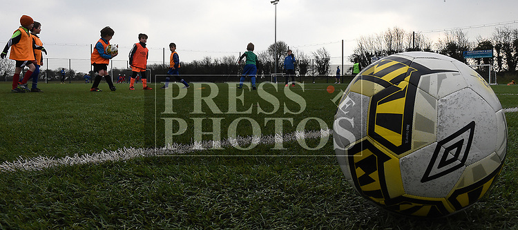 Action from the EMU Academy. Photo:Colin Bell/pressphotos.ie