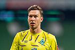 Enttaeuschung nach der Niederlage <br /> Jiri Pavlenka (Werder Bremen #01)<br /> <br /> Sport: Fussball: 1. Bundesliga: Saison 19/20: <br /> 26. Spieltag: SV Werder Bremen vs Bayer 04 Leverkusen, 18.05.2020<br /> <br /> Foto ©  gumzmedia / Nordphoto / Andreas Gumz / POOL <br /> <br /> Nur für journalistische Zwecke! Only for editorial use!<br />  DFL regulations prohibit any use of photographs as image sequences and/or quasi-video.