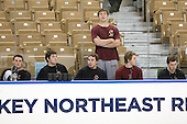 Brian Dumoulin (BC - 2), Edwin Shea (BC - 8), Barry Almeida (BC - 9), Carl Sneep (BC - 7), Cam Atkinson (BC - 13), Patrick Alber (BC - 27) - The Boston College Eagles defeated the Yale University Bulldogs 9-7 in the Northeast Regional final on Sunday, March 28, 2010, at the DCU Center in Worcester, Massachusetts.