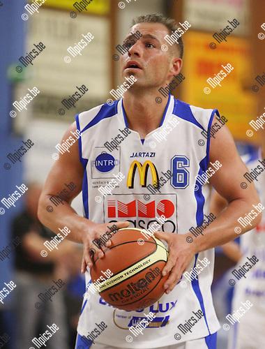 2007-10-20 / Basketbal / Kangoeroes / Kevin Roelandts