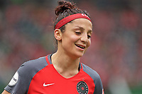 Portland, OR - Saturday April 29, 2017: Nadia Nadim during a regular season National Women's Soccer League (NWSL) match between the Portland Thorns FC and the Chicago Red Stars at Providence Park.