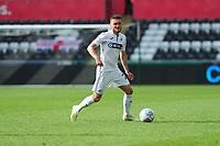 Matt Grimes of Swansea City in action during the Sky Bet Championship match between Swansea City and Rotherham United at the Liberty Stadium in Swansea, Wales, UK.  Friday 19 April 2019