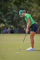 Jaye Marie Green (USA) barely misses her birdie putt on 4 during round 4 of the 2019 US Women's Open, Charleston Country Club, Charleston, South Carolina,  USA. 6/2/2019.<br /> Picture: Golffile | Ken Murray<br /> <br /> All photo usage must carry mandatory copyright credit (© Golffile | Ken Murray)