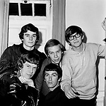 The Zombies 1965 Colin Bluntstone Hugh Grundy Chris White Paul Atkinson and Rod Argent<br /> &copy; Chris Walter