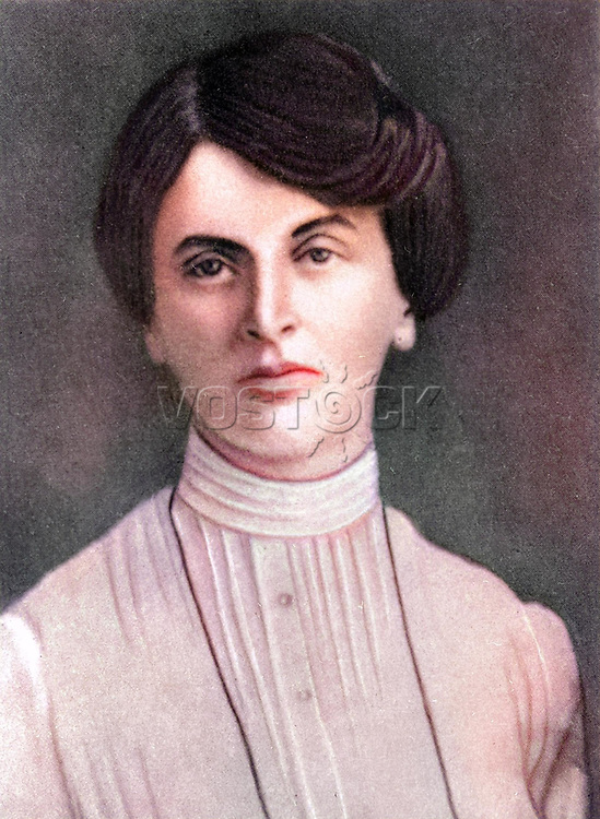 Inessa Armand (1874-1920) - member of the Soviet Communist Party since 1904 activist of the Russian and international revolutionary movement.