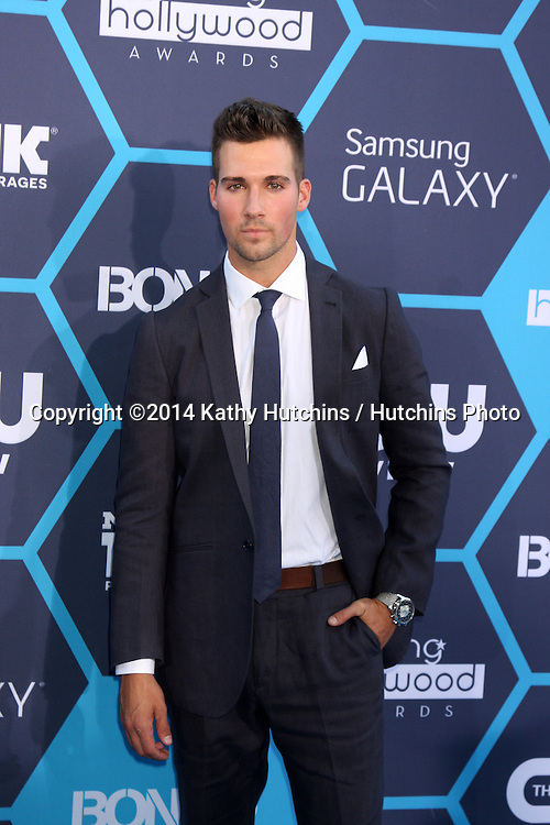 LOS ANGELES - JUL 27:  James Maslow at the 2014 Young Hollywood Awards  at the Wiltern Theater on July 27, 2014 in Los Angeles, CA