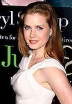 "WESTWOOD, CA. - July 27: Amy Adams arrives at the Los Angeles screening  of ""Julie & Julia"" at the Mann Village Theatre on July 27, 2009 in Westwood, California."