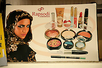 Advert for Turkish cosmetics