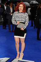 "Katy B arriving for the ""X-Men: Days of Future Past"" UK premiere at the Odeon Leicester Square, London. 12/05/2014 Picture by: Steve Vas / Featureflash"