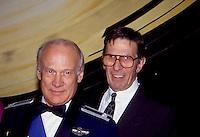 Buzz Aldrin &amp; Leonard Nimoy 1992 by <br /> Jonathan Green