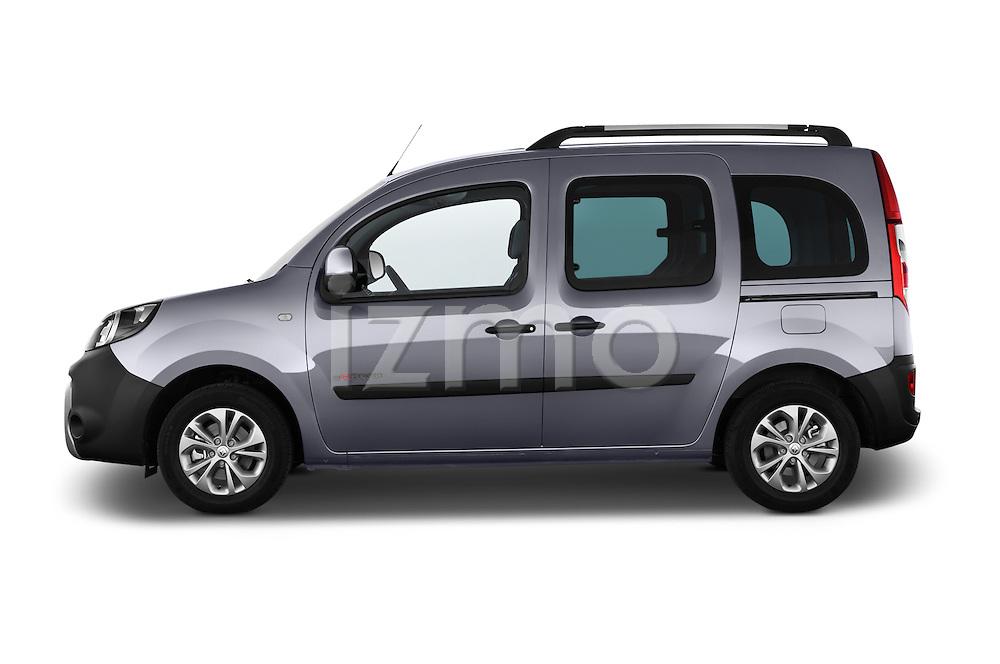 Driver side profile view of a 2013 - 2014 Renault Kangoo eXtrem Mini MPV.