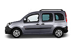 Driver side profile view of a 2013 - 2014 Renault Kangoo eXtrem Mini MPV.