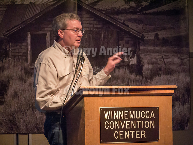 "Jack Hursh presents ""Diamond in the Rough"" on the restoration of his 1800s house in Reno, Saturday at Shooting the West XXVII, Winnemucca, Nev."