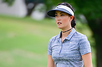 Michelle Wie (USA) departs 8 after sinking her putt during round 2 of  the Volunteers of America Texas Shootout Presented by JTBC, at the Las Colinas Country Club in Irving, Texas, USA. 4/28/2017.<br /> Picture: Golffile | Ken Murray<br /> <br /> <br /> All photo usage must carry mandatory copyright credit (&copy; Golffile | Ken Murray)