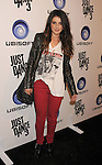 """LOS ANGELES, CA - OCTOBER 04: Shenae Grimes arrives at the launch of """"Just Dance 3"""" at The Beverly on October 4, 2011 in Los Angeles, California."""