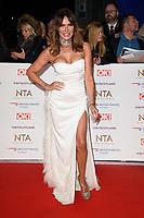 Lizzie Cundy<br /> arriving for the National TV Awards 2019 at the O2 Arena, London<br /> <br /> ©Ash Knotek  D3473  22/01/2019