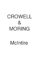 Crowell & Moring McIntire