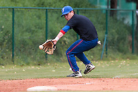 18 August 2010: Jorge Hereaud of Team France warms up prior to the France 7-3 win over Ukraine, at the 2010 European Championship, under 21, in Brno, Czech Republic.