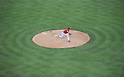 Yu Darvish (Rangers),<br /> MAY 16, 2014 - MLB :<br /> Yu Darvish of the Texas Rangers pitches during the Major League Baseball game against the Toronto Blue Jays at Globe Life Park in Arlington in Arlington, Texas, United States. (Photo by AFLO)