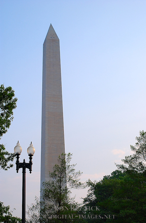 Washington Monument at Dawn, National Mall, Washington DC