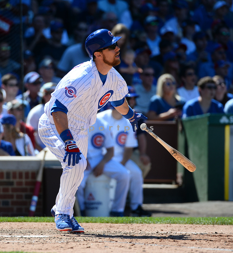 Chicago Cubs Ben Zobrist (18) during a game against the Pittsburgh Pirates on June 17, 2016 at Wrigley Field in Chicago, IL. The Cubs beat the Pirates 6-0.