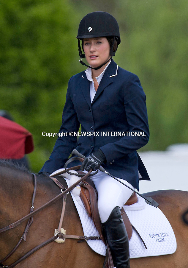 """JESSICA SPRINGSTEIN_daughter of """"The Boss"""" Bruce Springstein.competes at the Royal Windsor Horse Show 2011, Windsor_14/05/2011.Mandatory Photo Credit: ©Dias/Newspix International..**ALL FEES PAYABLE TO: """"NEWSPIX INTERNATIONAL""""**..PHOTO CREDIT MANDATORY!!: NEWSPIX INTERNATIONAL(Failure to credit will incur a surcharge of 100% of reproduction fees)..IMMEDIATE CONFIRMATION OF USAGE REQUIRED:.Newspix International, 31 Chinnery Hill, Bishop's Stortford, ENGLAND CM23 3PS.Tel:+441279 324672  ; Fax: +441279656877.Mobile:  0777568 1153.e-mail: info@newspixinternational.co.uk"""